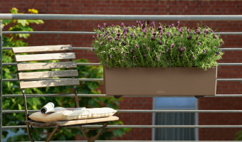 4 Railing Planter Boxes Perfect for Your Deck or Balcony